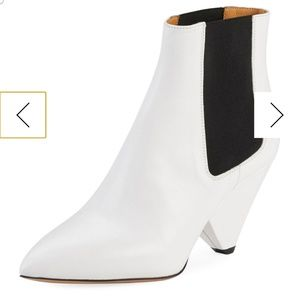 Isabel marant white booties